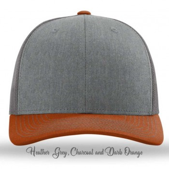 Heather Grey/Charcoal/Dark Orange