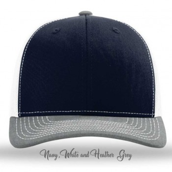 Navy/White/Heather Grey