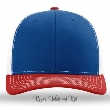 Royal/White/Red